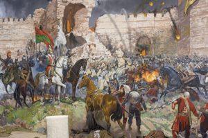 6 Nisan-29 Mayıs 1453 tarihleri arasındaki kuşatmanın sonucunda Osmanlı Padişahı II. Mehmed komutasındaki birliklerin Bizans İmparatorluğu'nun başkenti (Kostantiniyye) İstanbul'u fethinin 567 nci yılı kutlu olsun.